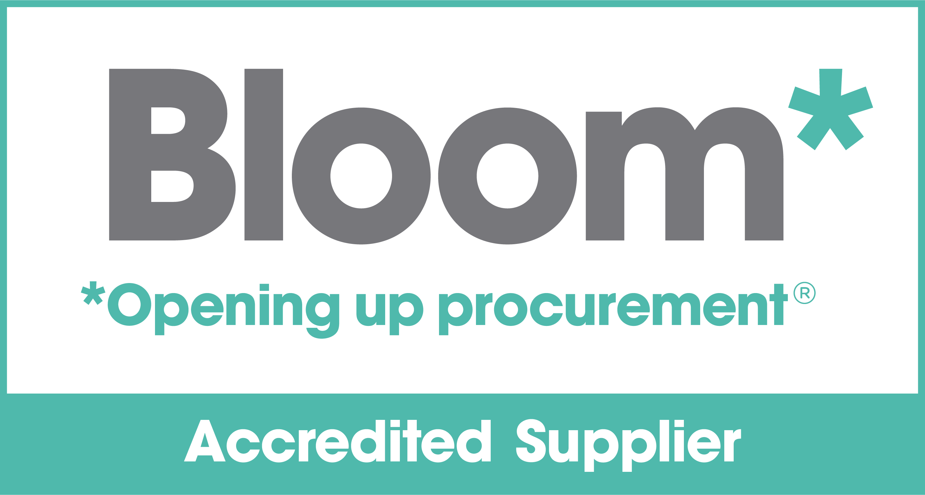 Results Department is an accredited Bloom supplier.